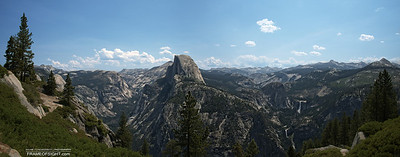 http://gigapan.com/gigapans/141376 Half Dome in Yosemite as seen from Glacier Point