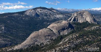 Balloon Dome in the California Sierra Mountains