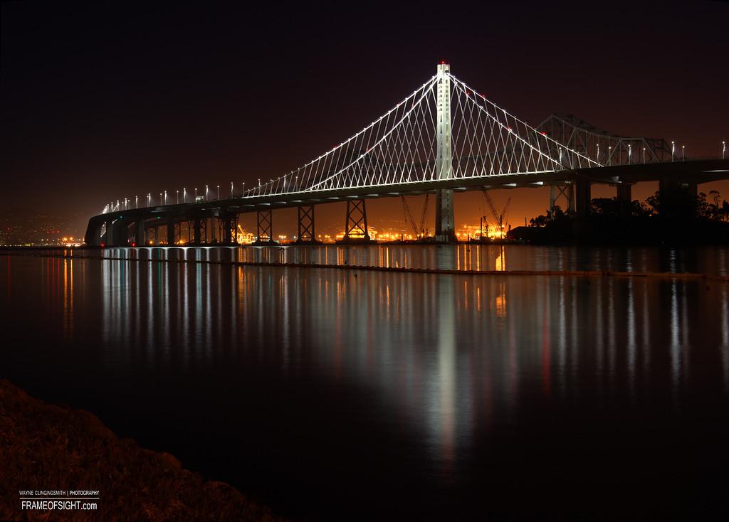 The New Bay Bridge - Treasure Island to Oakland